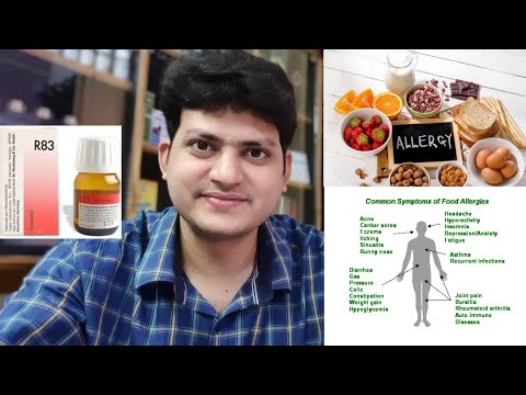 German Homeopathic Medicine For food allergy ? Explain !