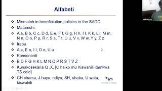 Kurso de Esperanto per la svahila (parto 1/8)