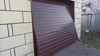 Подъёмные ворота в гараж своими руками.