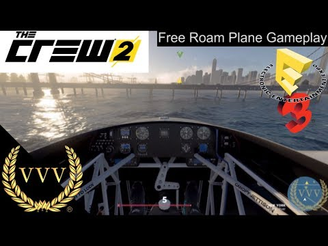 The Crew 2 - Free Roam Gameplay - Planes
