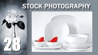 28. Stock Photography Тема: Элегантная и уравновешенная композиция. Пример второй