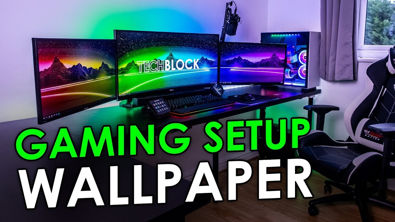 Create An Awesome Desktop Wallpaper For Your Gaming Setup Youtube