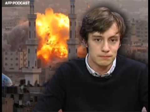 Jenifer Dixon interviews Harry Fear in Gaza