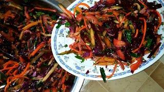 Juda oddiy lekin mazali salat (dasturxonbop)