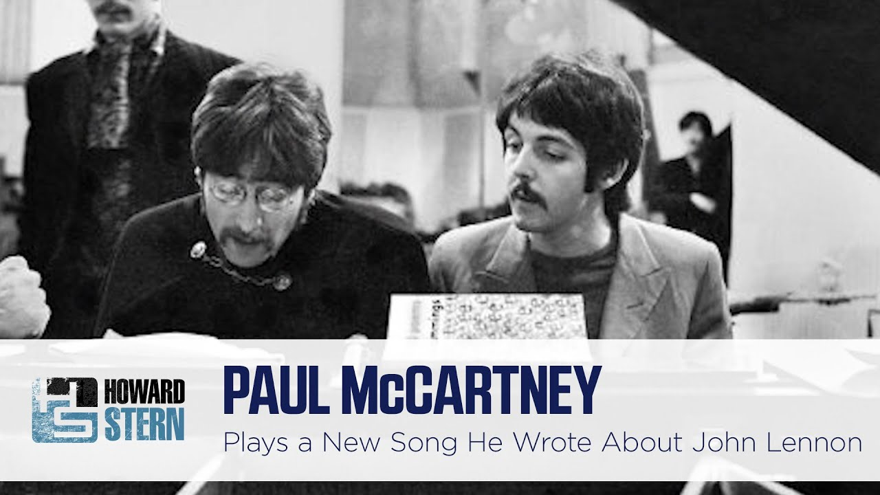 Paul McCartney Plays the Song He Recorded on His iPhone About John Lennon