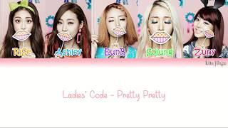 Ladies' Code (레이디스 코드) – Pretty Pretty (예뻐 예뻐) Lyrics (H…