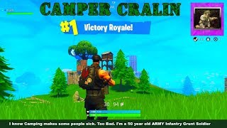 Fortnite's Camper Cralin / Special Forces Skin Win