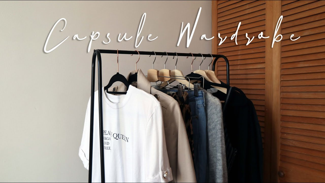 How to build a Capsule Wardrobe | My Top Tips (super easy steps)