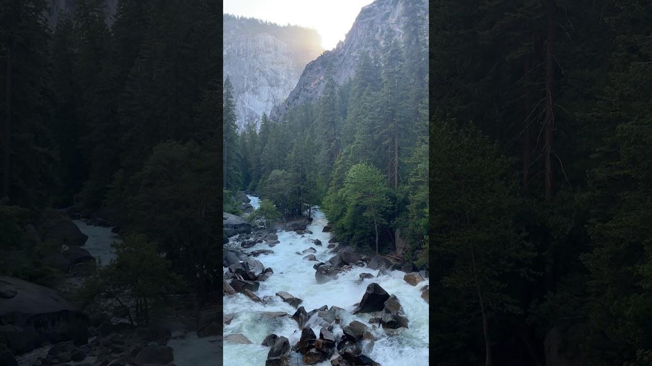 Mystic Falls Trail, Yosemite National Park, California