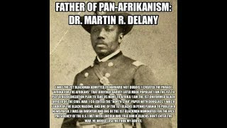 The National Board of Commissioners:  Martin Delany & Constitution an African Nation