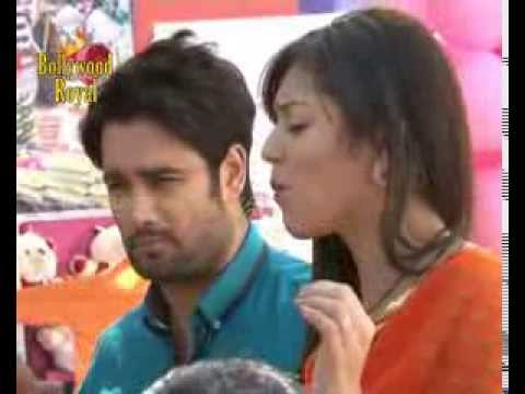 On Location Of TV Serial 'Madhubala'  RK & Madhu Enjoyng In The Market