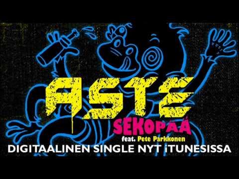 Aste - Sekopää Feat Pete Parkkonen - Single nyt iTunesissa!