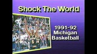 Michigan Basketball - Shock The World (1992)