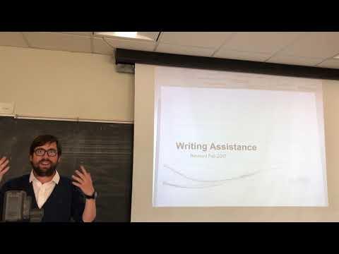 Writing Tutor Presentations