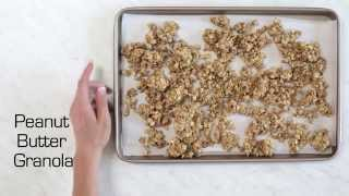 Diy 5-ingredient Peanut Butter Granola