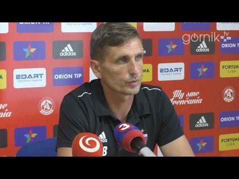 Konferencja prasowa przed rewanżowym meczem z AS Trenčín (01-08-2018)