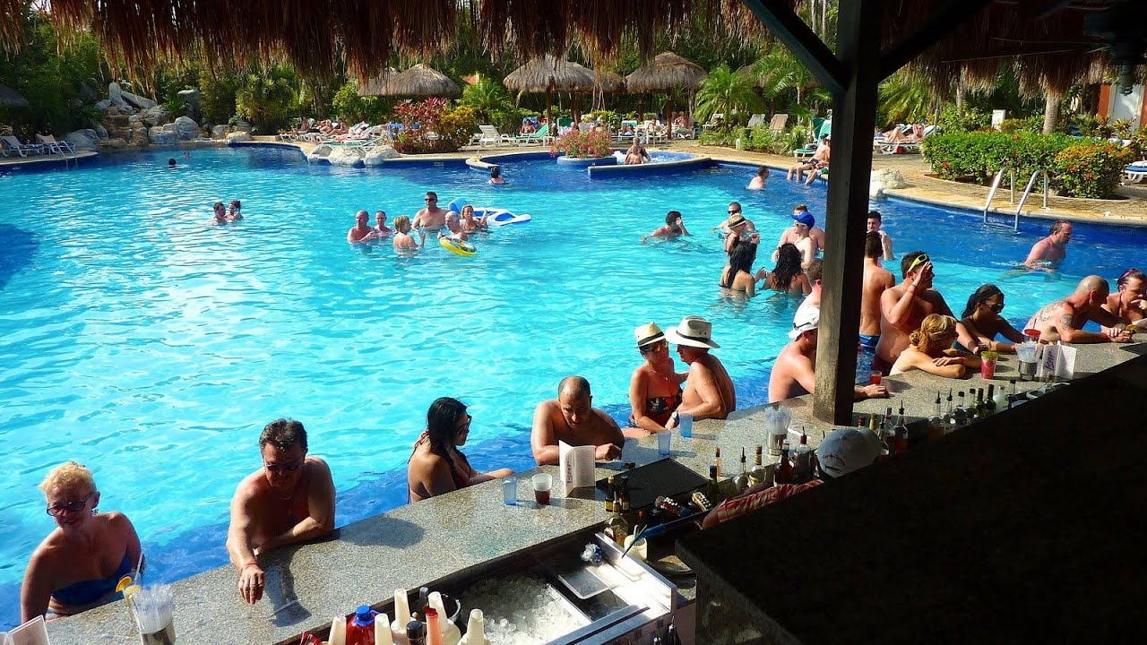 riu tequila pool bar - mexico 2013