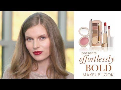 Bold Red Lip Makeup Look: Makeup Tutorial   jane iredale
