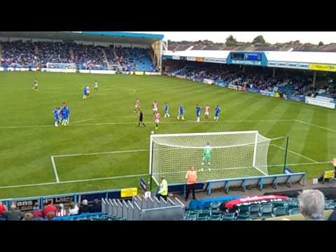 Gillingham Vs Sheffield United Sharp Penalty