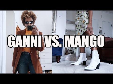 Unboxing Deliveries Help Me Pick Boots Ganni Or Mango