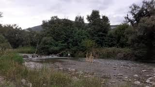 Риболовля на гірській річці в П'ятигорську