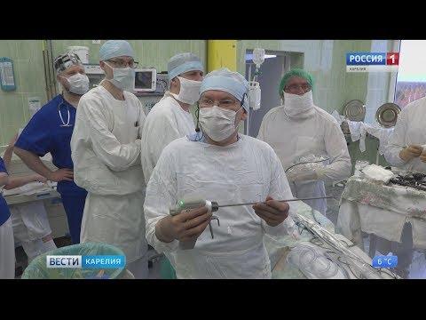 Профессор Киргизов оперирует  в Детской республиканской больнице Карелии