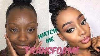 WATCH ME TRANSFORM | FALL GLAM MAKEUP