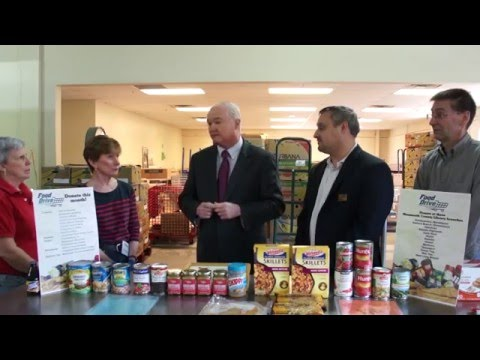 2016 Monmouth County Food Drive Kicks off