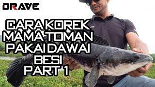 Download Lagu Cara KOREK Mama Toman mengunakan DRAVE Spinnerbait - Part 1/2 mp3