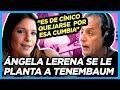 Ángela Lerena le canta la justa a Tenembaum, que sigue ofendido por la cumbia contra Larreta