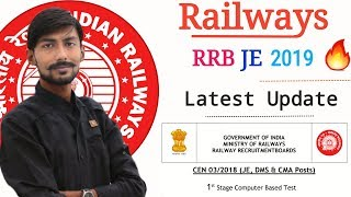 RRB JE 2019 , CBT-1 | MODIFIED ANSWER KEYS & QUESTIONS before RRB JE CBT 1 RESULT 2019