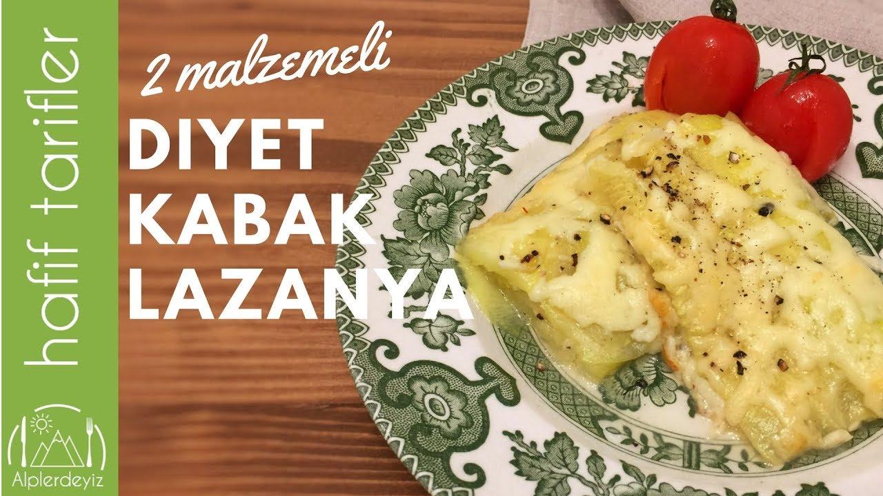 Diyet Lazanya Tarifi