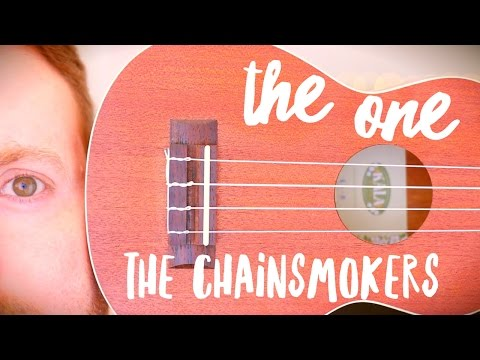 THE ONE - THE CHAINSMOKERS (EASY UKULELE TUTORIAL!)