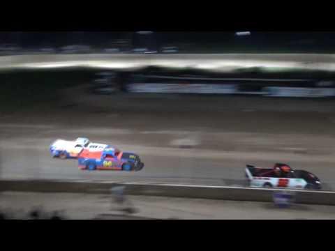 14. Pro Truck Heat Race #1 at Crystal Motor Speedway, 04-15-17