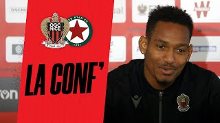 VIDEO: La conf' avant Nice - Red Star