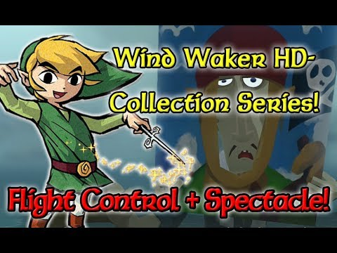 Wind Waker HD - Flight Control Platform and Spectacle Island