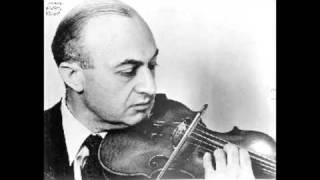 Louis Kaufman plays Rimsky Korsakov