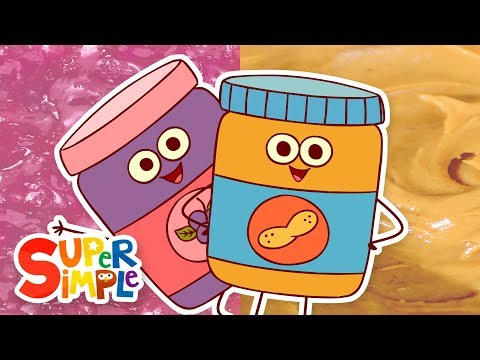 Peanut Butter & Jelly | Kids Songs | Super Simple Songs