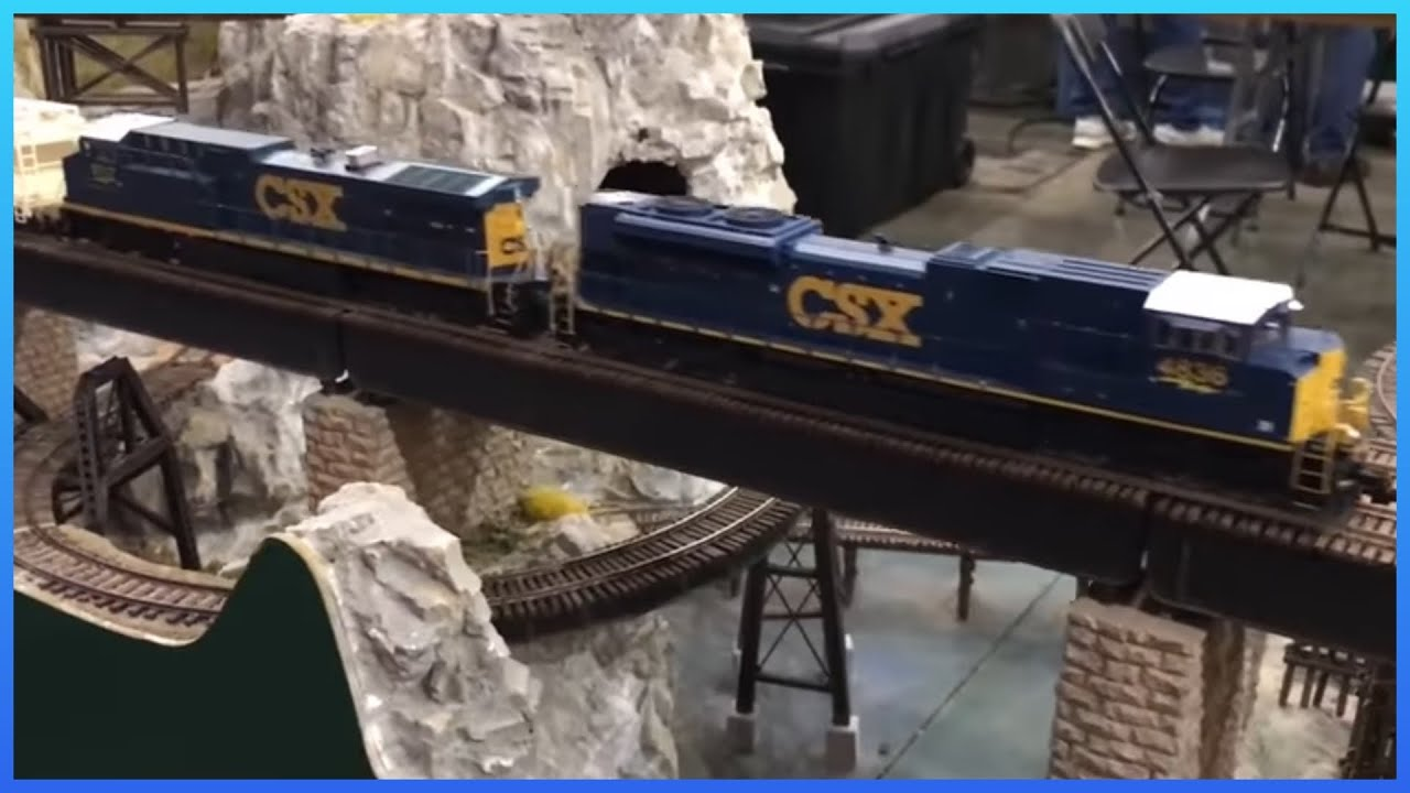 awesome ho scale model trains and railroads at train show youtube