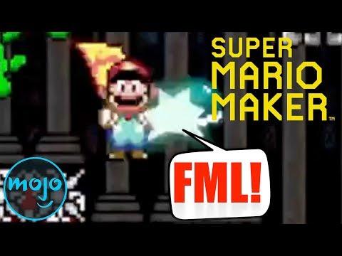 Top 10 Hardest 'Super Mario Maker' Levels