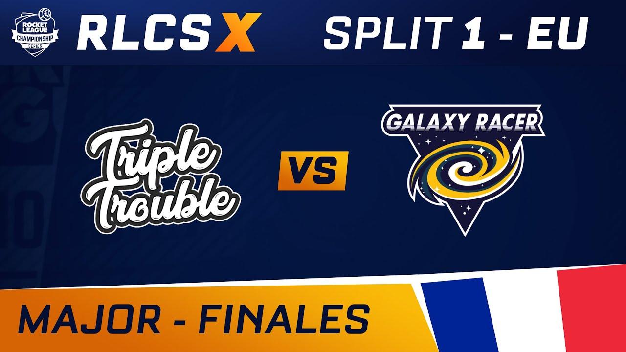 Triple Trouble vs Galaxy Racer - 1/4 FINALE - RLCS X - EU MAJOR