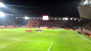 FC Twente - PSV (26-01-2011) Penalty kick serie filmed from Vak-P