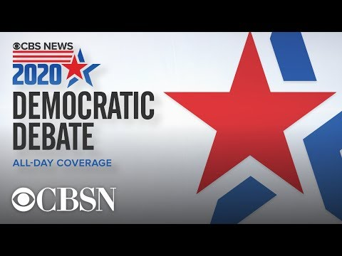 Watch live: CBS News Democratic debate