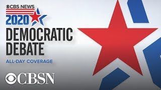 WATCH LIVE: CBS News Democratic debate on FREECABLE TV