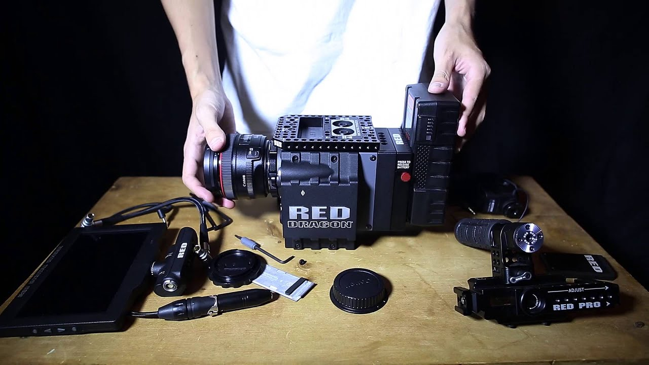 The Assembling of a RED DRAGON Camera