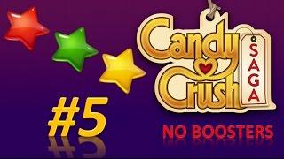 Candy Crush Saga! level 5 - 3 stars - no boosters