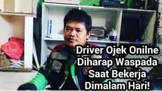 Viral! Driver Ojek Online Kaget Dikalungi Pisau