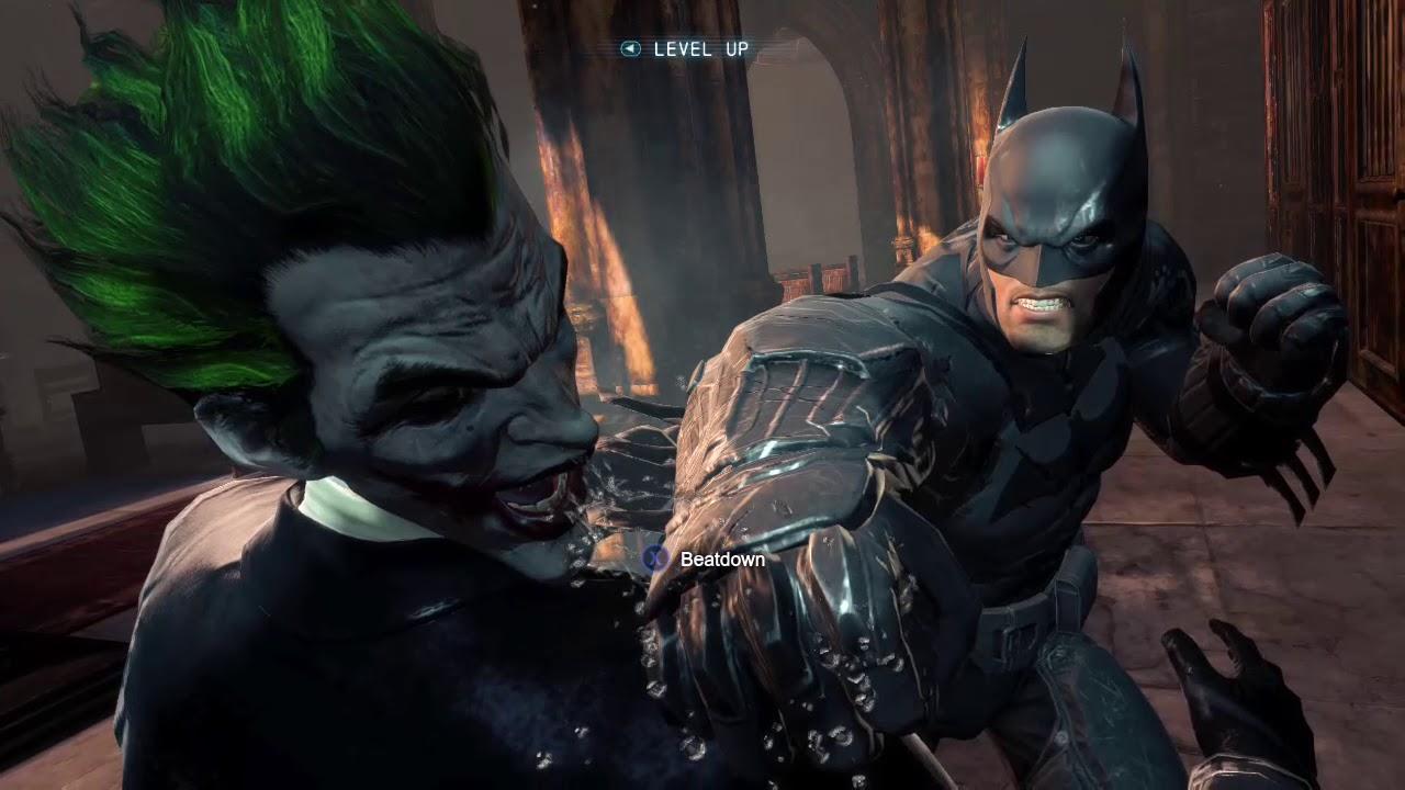Batman Arkham Origins- Ending (Batman vs The Joker)