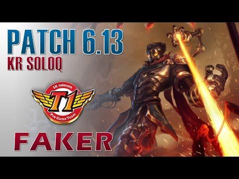 SKT T1 Faker - Viktor Mid Lane - KR LOL Master 188LP