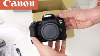 Canon 77d Unboxing & Review of What You Get!